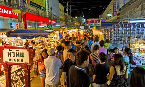 Hua Hin Night Market To eat